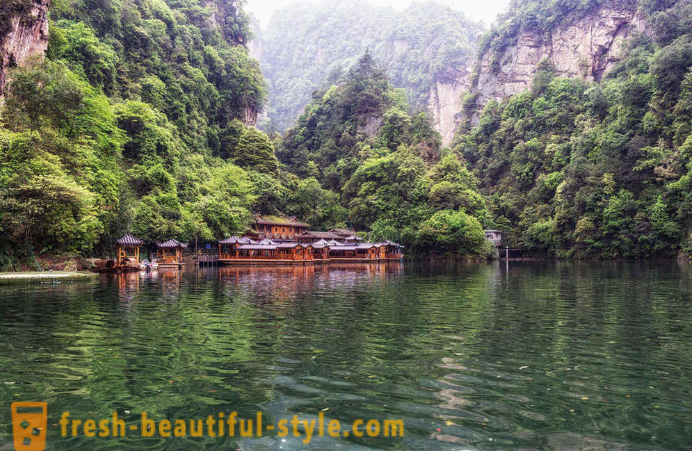 Res till China National Park
